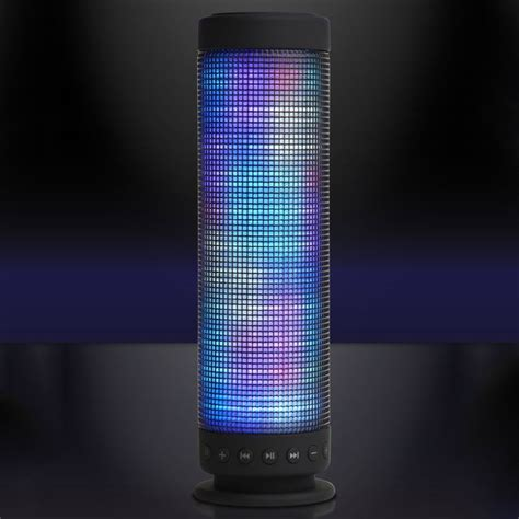Bluetooth Speaker Light Show by Boom Tower Bluetooth Light Show Speaker 187 Petagadget