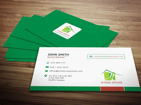 real estate business card design templates deal of the week 40 ready to print business card