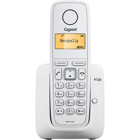 da casa senza telefono fisso siemens gigaset a120 telefono fisso cordless senza fili da