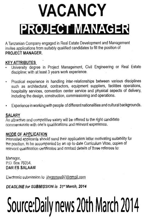 Project Manager Description Sle Resume 12 Project Manager Description Recentresumes 28 Images Construction Project Manager