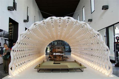 pavilion theme blog module irori pavilion by kengo kuma for kitchenhouse at milan