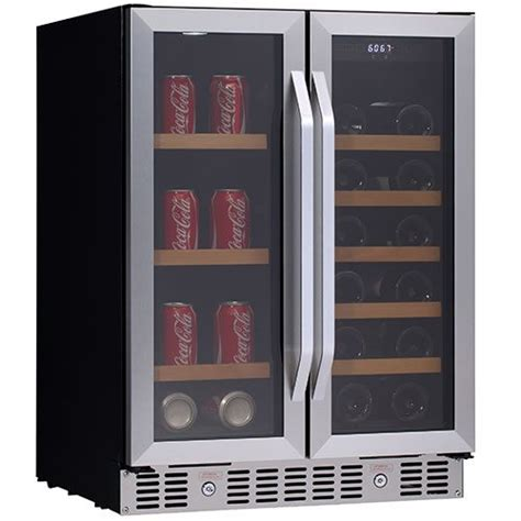 built in wine and beverage refrigerator cabinet sawdust