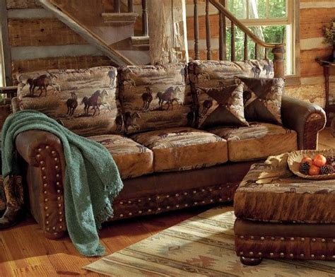 western couches vintage western ranch furniture western furniture