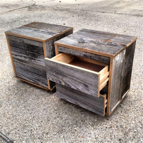 Reclaimed Wood Nightstand reclaimed wood nightstands 2