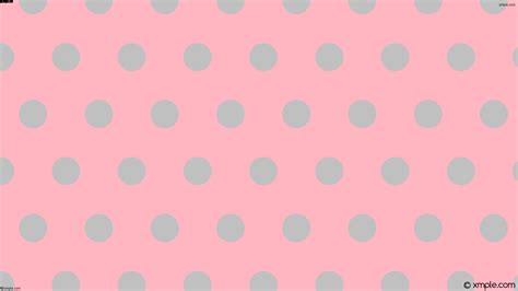 polka dot pattern pink grey wallpaper pink polka dots hexagon grey ffb6c1 c0c0c0