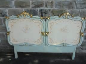 decorative headboards decorative antique carved polychrome painted headboard