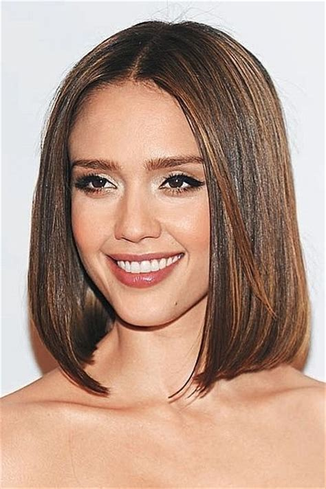 above the sholder hair cuts medium all one length hairstyles