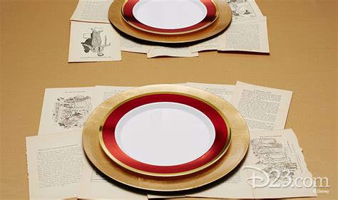 and the beast table setting enchanted entertaining and the beast place
