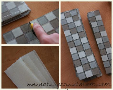 diy tiling do it herself how to mosaic tile a mirror caffeine and