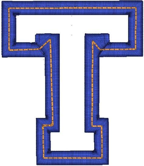 letter T | Outline Block T (OutlineT) | T ɨs ʄօʀ Taʀa ... T