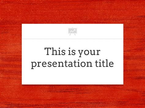 free presentation template elegant works with photo
