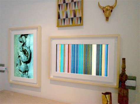 digital picture frames grown up into wall hgtv