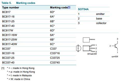 transistor bc337 datasheet pdf 2sc33725 datasheet pdf npn transistor nxp