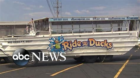 duck boat crash ntsb investigating duck boat accident youtube