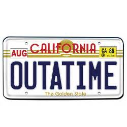 American Classics Vanity Back To The Future Outatime License Plate Replica