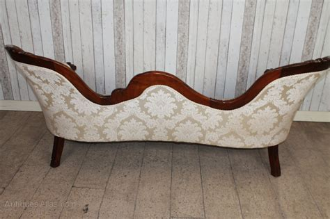 victorian style chaise lounge victorian style mahogany sofa chaise lounge antiques atlas