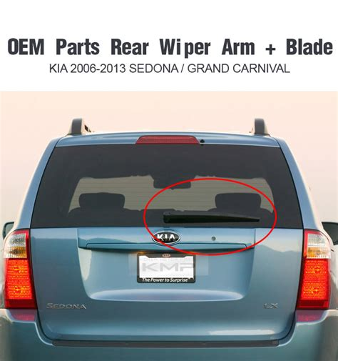 kia sedona parts list oem genuine parts rear window wiper arm blade 2pcs for kia