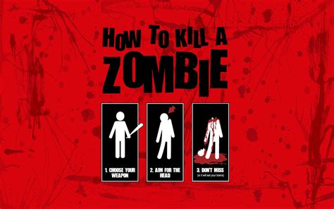 wallpaper keren zombie brutal and effective wallpaper and background image