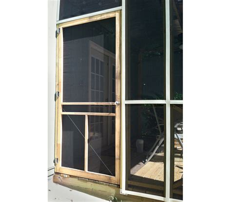 Screen Porch Doors by What I Learned Building A Screened In Porch
