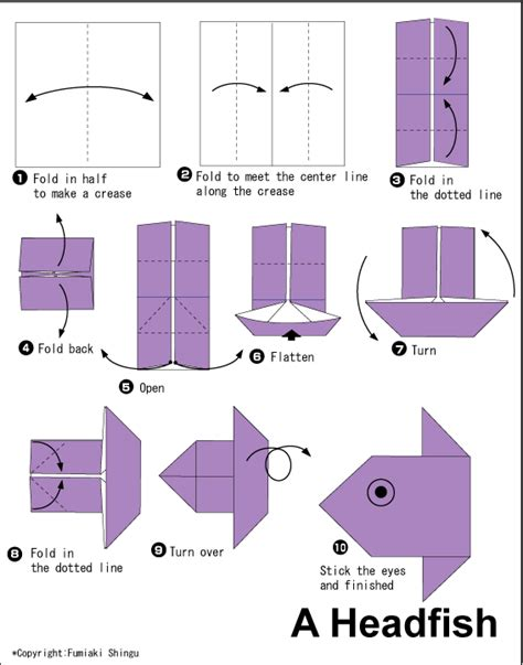 Origami Fish Easy - fish easy origami for