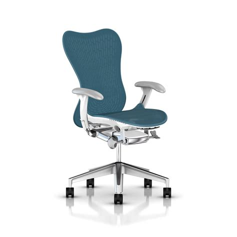 Herman Miller Mirra Chair by Herman Miller Mirra 174 2 Chair Executive Turquoise Gr