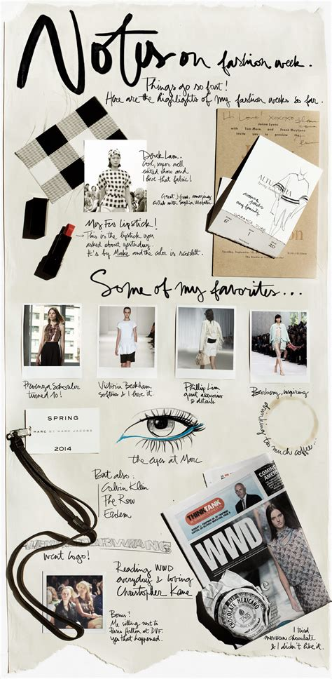 photography board layout notes on fashion week atelier dor 233