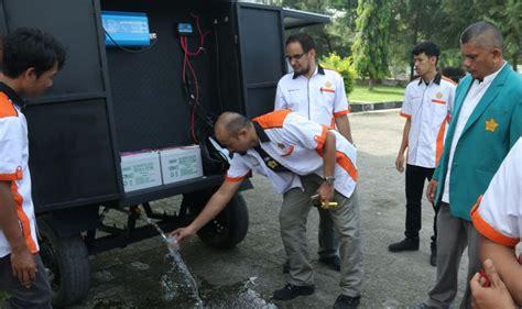 Lu Tenaga Surya 1 keren mahasiswa unsyiah ciptakan pengolah air tenaga surya