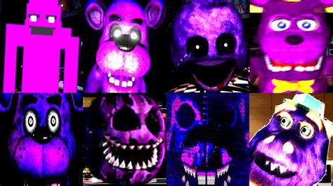 how to make a fnaf fan game 15 purple animatronic jumpscares fnaf fan games