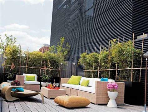 beispiele für gartengestaltung moderne terrasse idee