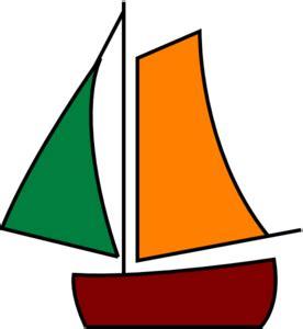 cartoon sailboat on water sailing boat white clip art at clker vector clip art