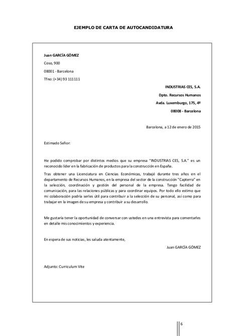 Modelo Curriculum Iese Modelos De Cartas