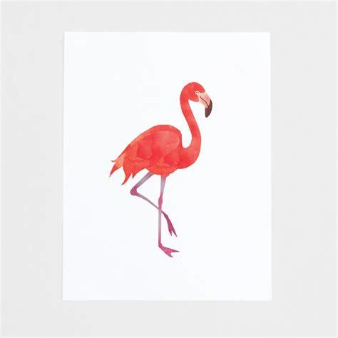 Printed Poster Flamingo flamingo print artofmelodious
