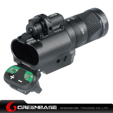 Laser Rifle Scope Whit Flashlight Tactical 请填关键字 ar 15 ak 47 dot scope gun accessories