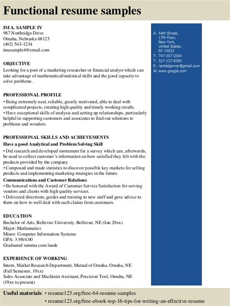 Unit Resume by Top 8 Unit Resume Sles