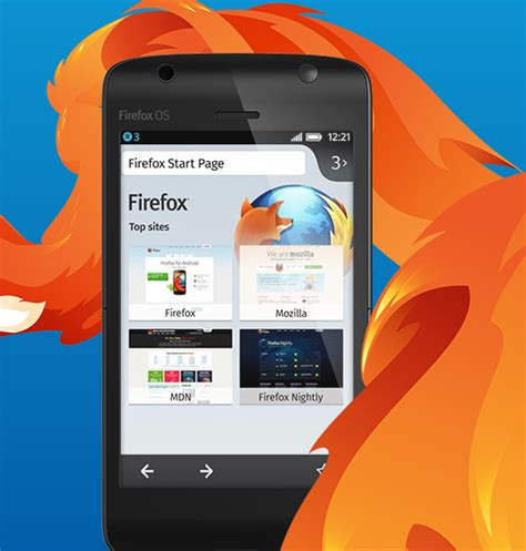 firefox mobile firefox mobile operating system unveiled at mobile world