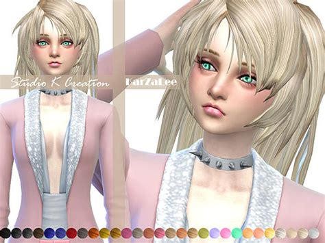 hairstyles studio games studio k creation animate hair 28 asuna sims 4 downloads