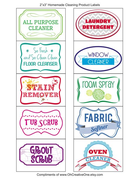 Printable Product Labels | ohcreativeone your one stop printable diy shop free