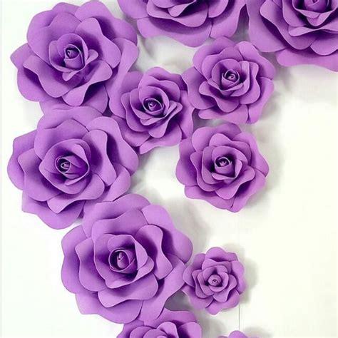Flower Big Bunga Kertas Paper Flower handmade 20cm 3d foam flower wedding decoration large artificial paper flowers