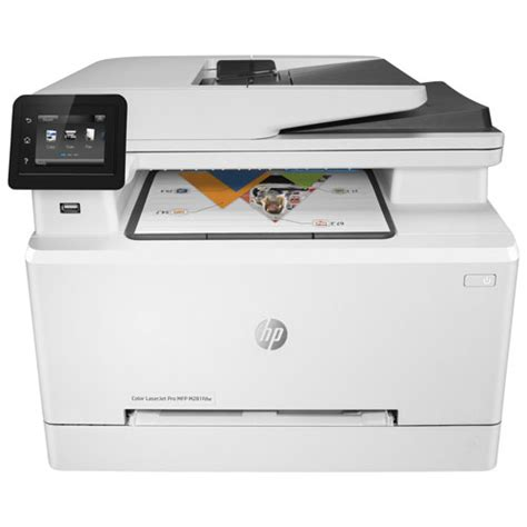 wireless all in one color laser printer hp laserjet pro mfp m281fdw colour wireless all in one