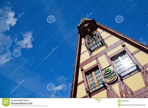 ob house framework gable stock photography image 29855322