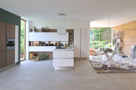 cucina open space cucine a vista per il loft nel soggiorno open space
