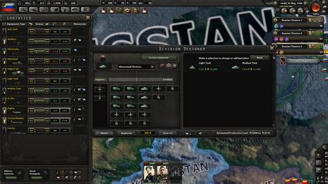 Hoi4 Division Template