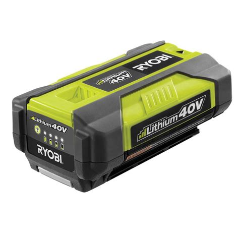 ryobi 40 volt slim pack accessory battery op4015a the