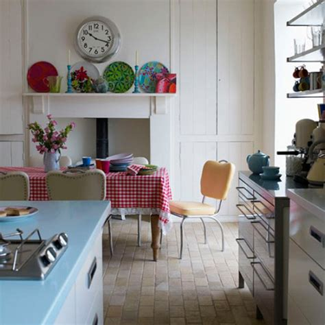 nostalgic retro kitchen ideas