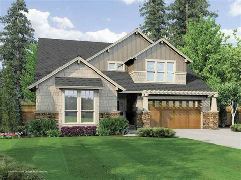 Craftsman Style House Plans Two Story 2 Story Craftsman House Plans 1 5 Story Craftsman House