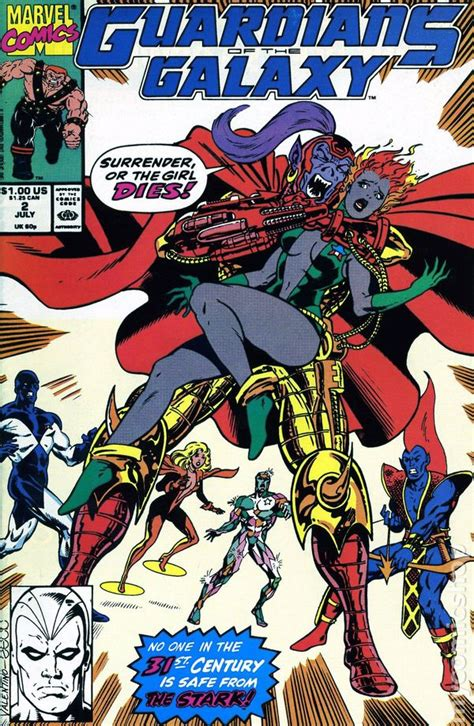 book two of the guardians books guardians of the galaxy comic books issue 2 1990
