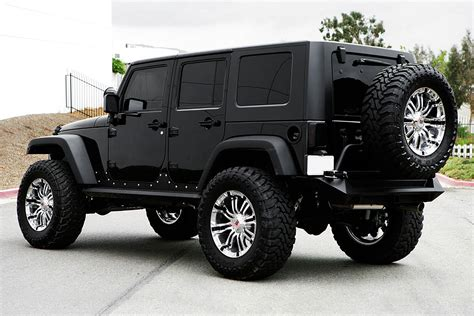 Rbp 174 94r Chrome With Black Inserts On Jeep Wrangler