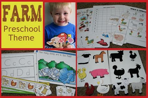 Farm Theme Home Preschool Lesson 26 Best Images About Preschool Farm On