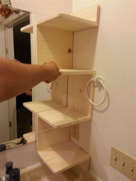 Build A Diy by How To Build A Corner Shelf For You Bathroom At Techshop