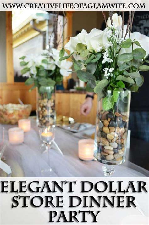 elegant dollar store dinner party diy super easy